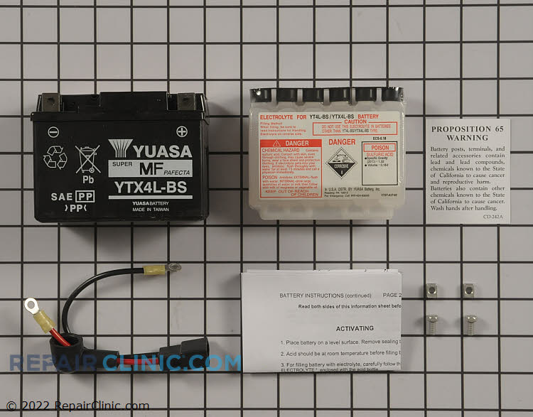 Battery 7067012YP Alternate Product View