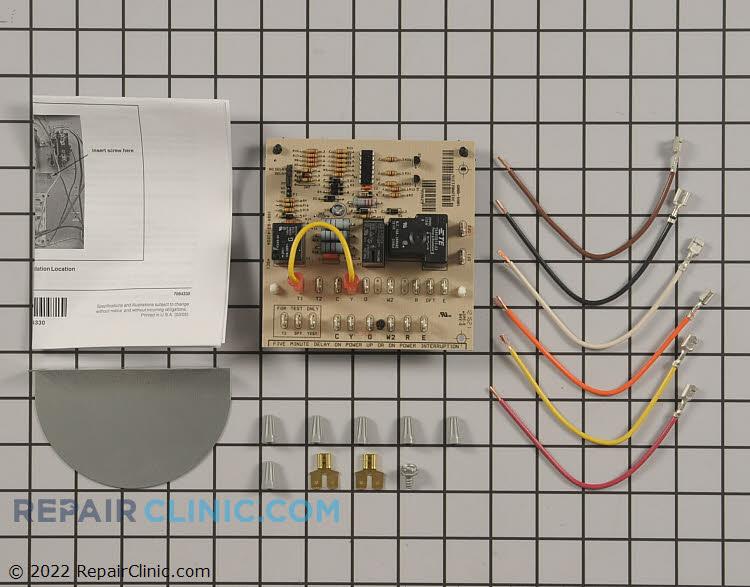 defrost control board 917178a repairclinic com rh repairclinic com Coleman Furnace Wiring Diagram Mobile Home Intertherm Furnace Wiring Diagram