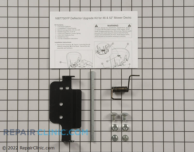 Discharge Chute 1687750YP Alternate Product View