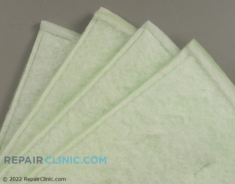 """25 x 25 x 1 (4 Pack) Allergen Shield Plus Filter with Antimicrobial Layer.  Also fits 2"""" openings."""