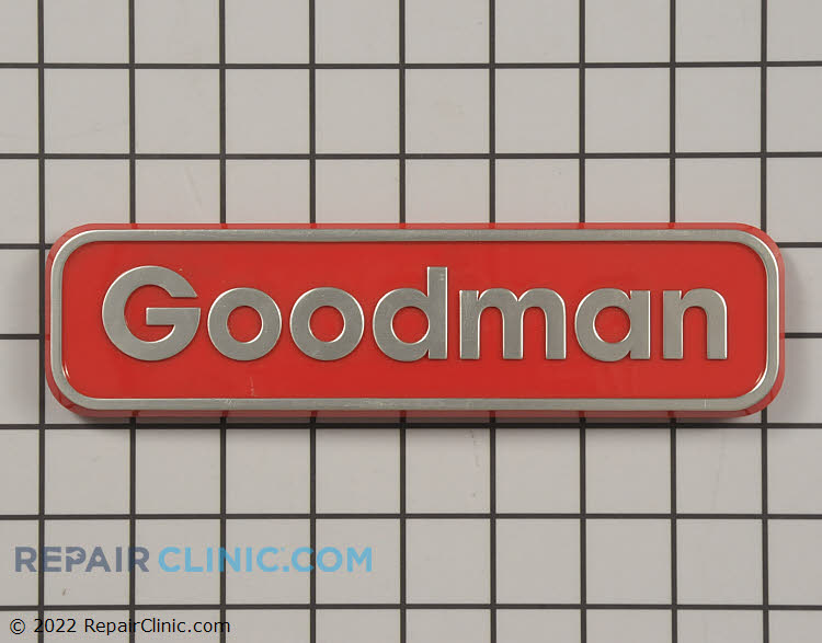 Nameplate, goodman