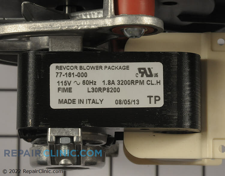 Draft Inducer Motor B4833000S Alternate Product View