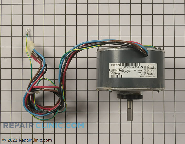 Condenser Fan Motor 1172508 Alternate Product View