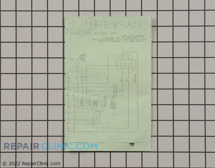 Wiring Diagram 31-2476         Alternate Product View