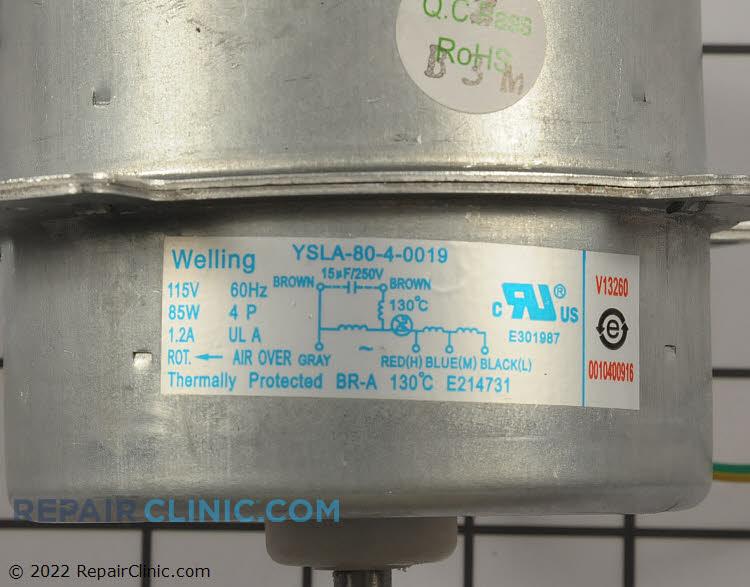 Fan Motor AC-4550-301 Alternate Product View