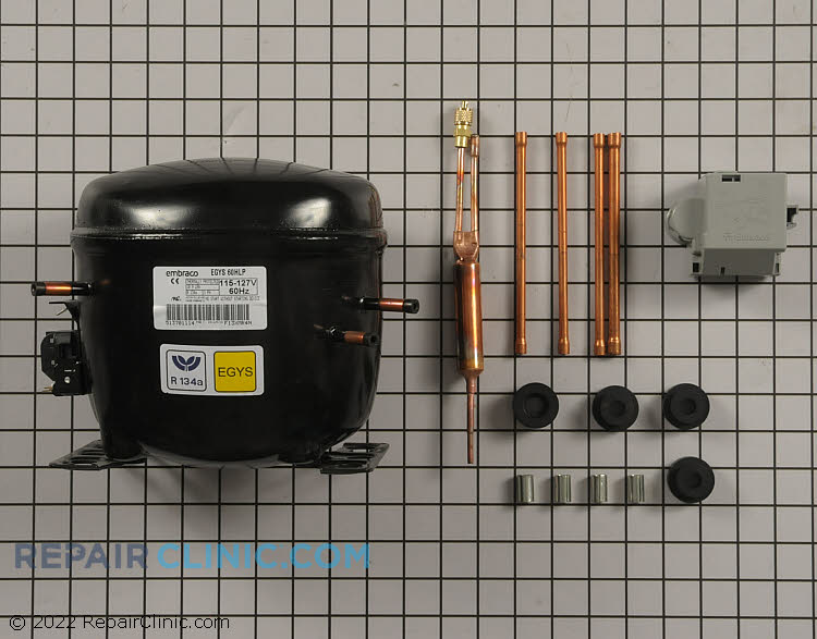 Compressor W10309988 Alternate Product View
