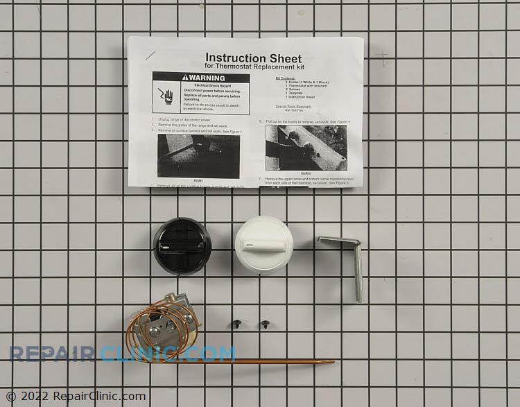 Temperature Control Thermostat WPW10641988 Alternate Product View