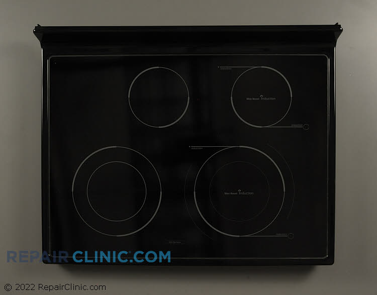 Hybrid cooktop assembly