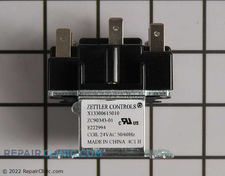 Relay; power duty, switching, dpdt, 12a at 125v, 24