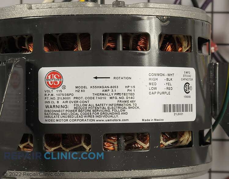 Blower Motor 21L90 Alternate Product View