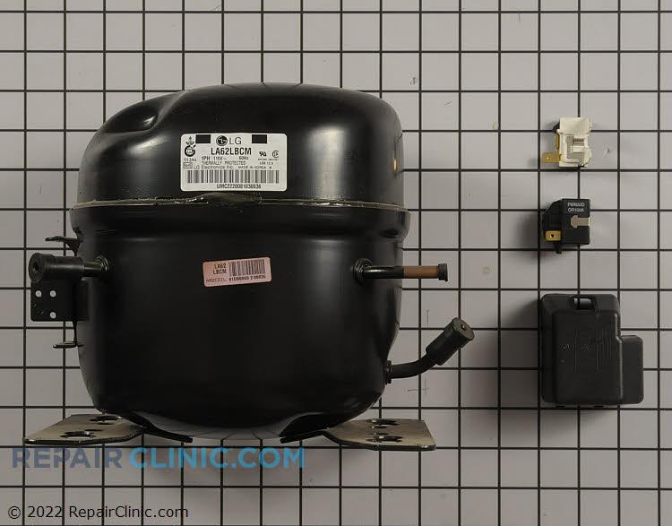 Compressor set assembly