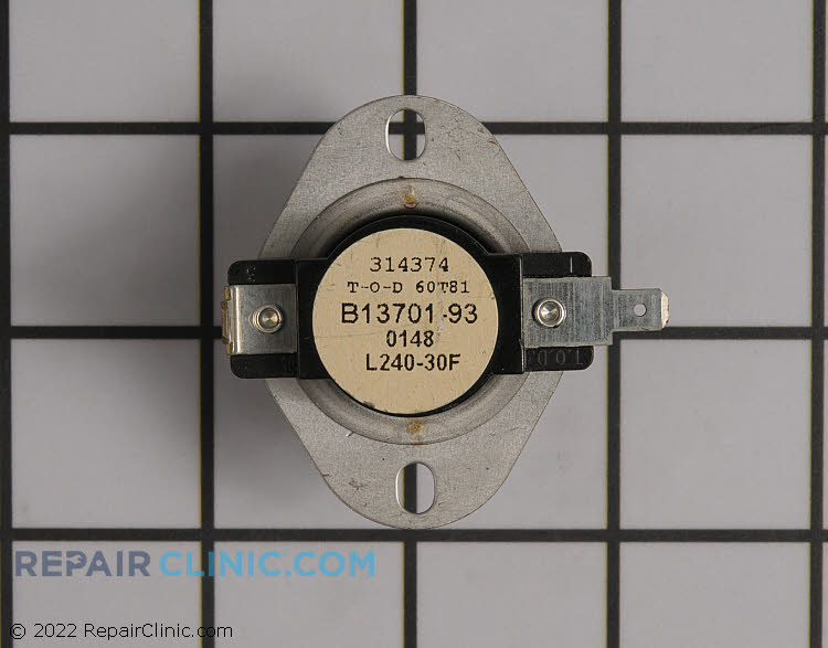 High Limit Thermostat B1370193 Alternate Product View