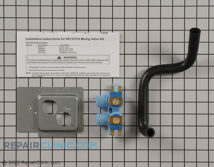 Water Inlet Valve R0131578        Alternate Product View