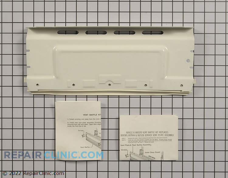 Vent plate assembly