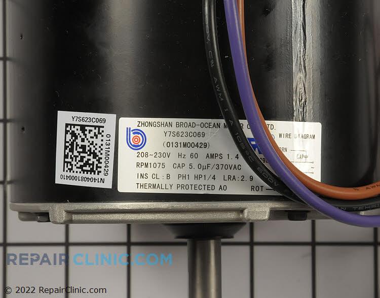 Fan Motor 0131M00429S Alternate Product View