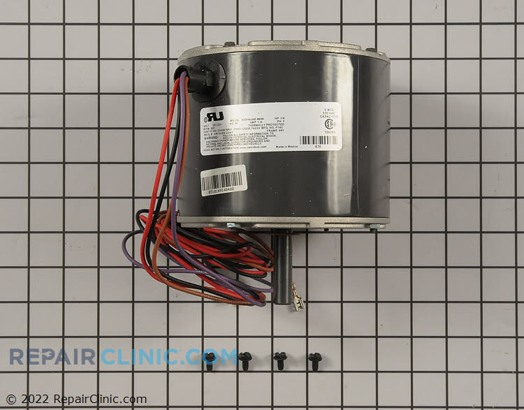 """1/5 HP 200-230Volts 60Hertz 1.5Amps 825RPM Single Speed Closed Enclosure 48Y Frame Single Phase CCW Rotation 1.75"""" Shaft"""