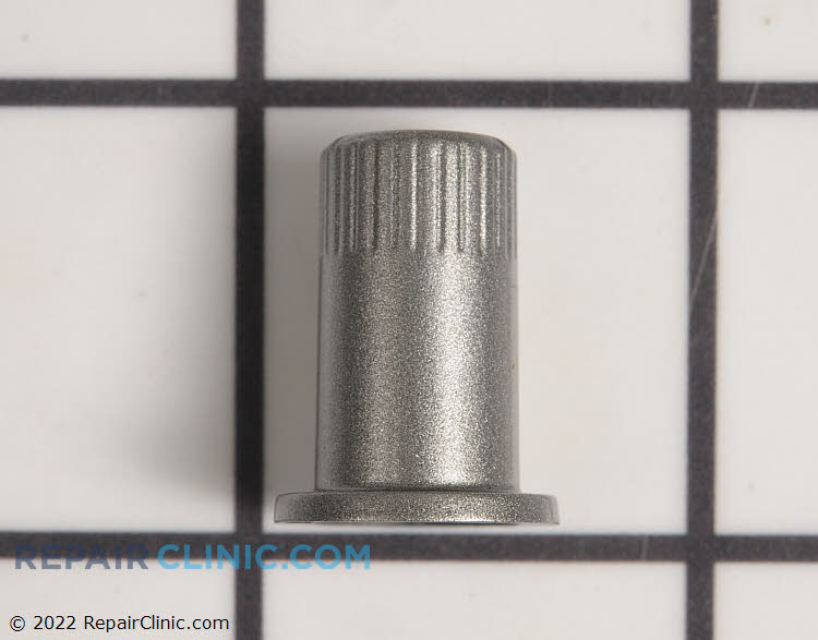 Timer knob, stainless steel