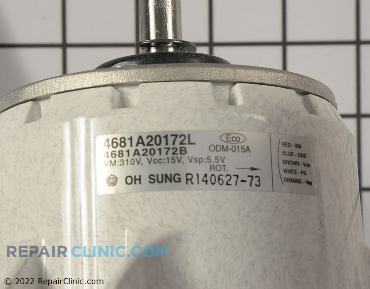 Fan Motor 4681A20172Q Alternate Product View