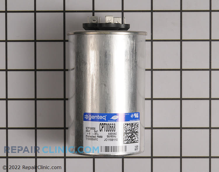 Dual Run Capacitor CPT00668 Alternate Product View