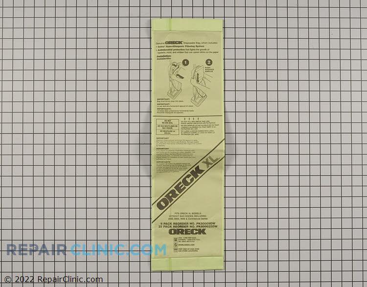 Vacuum Bag 80009DW Alternate Product View