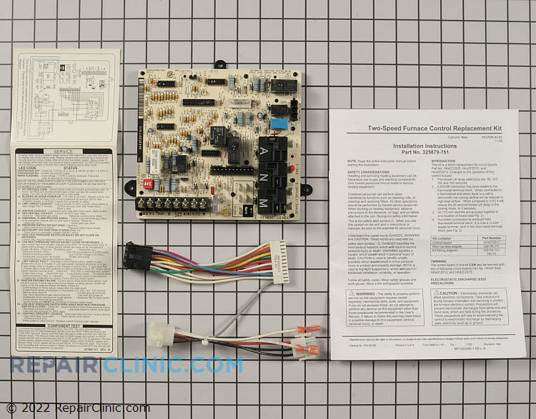 Control Board 325879-751 Alternate Product View