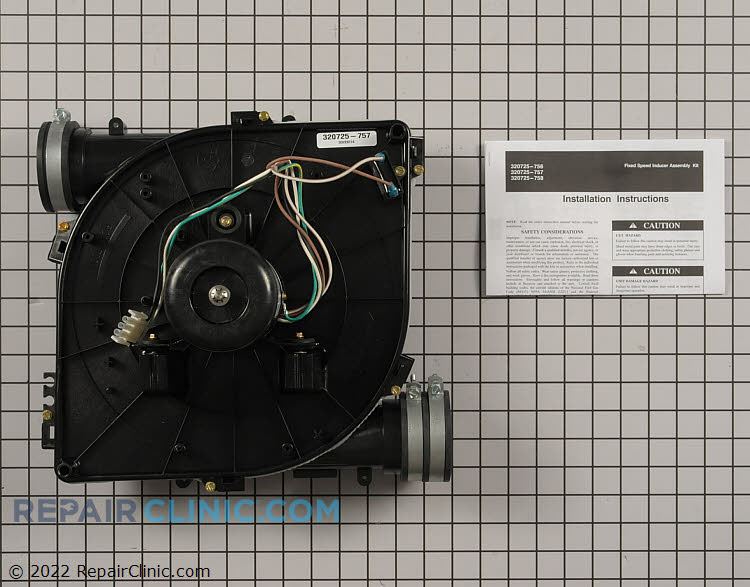 Draft Inducer Motor 320725-757 Alternate Product View