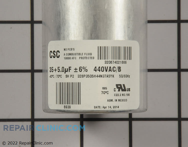 Dual Run Capacitor S1-02425859700 Alternate Product View