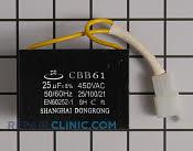 Capacitor - Part # 1955486 Mfg Part # 820270002