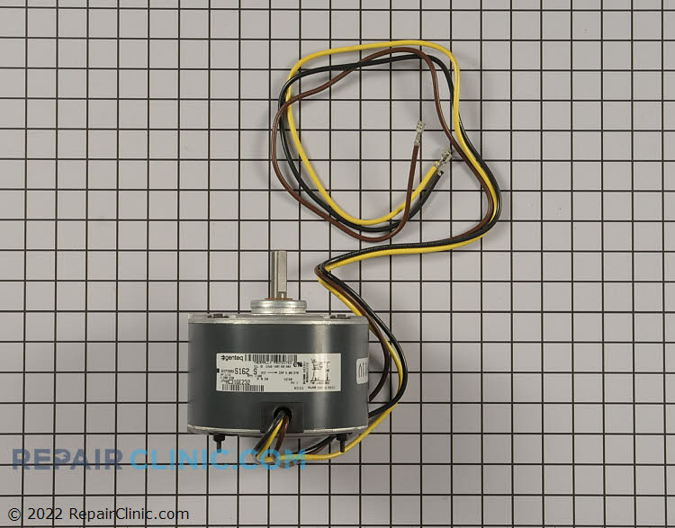 """1/12HP 208-230Volts 60Hertz 0.5Amps 1100RPM Single Speed Closed Enclosure 48Y Frame Single Phase CW Rotation 1.5"""" Shaft"""