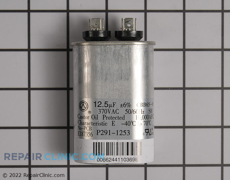 Run Capacitor P291-1253 Alternate Product View