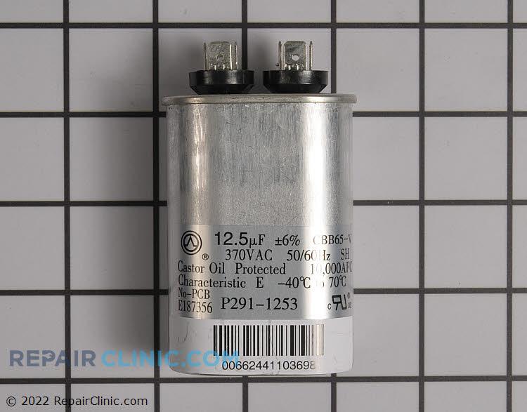 Single run capacitor 370V 12.5 mfd