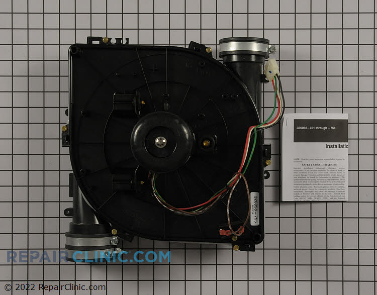 Draft Inducer Motor 326058-755 Alternate Product View