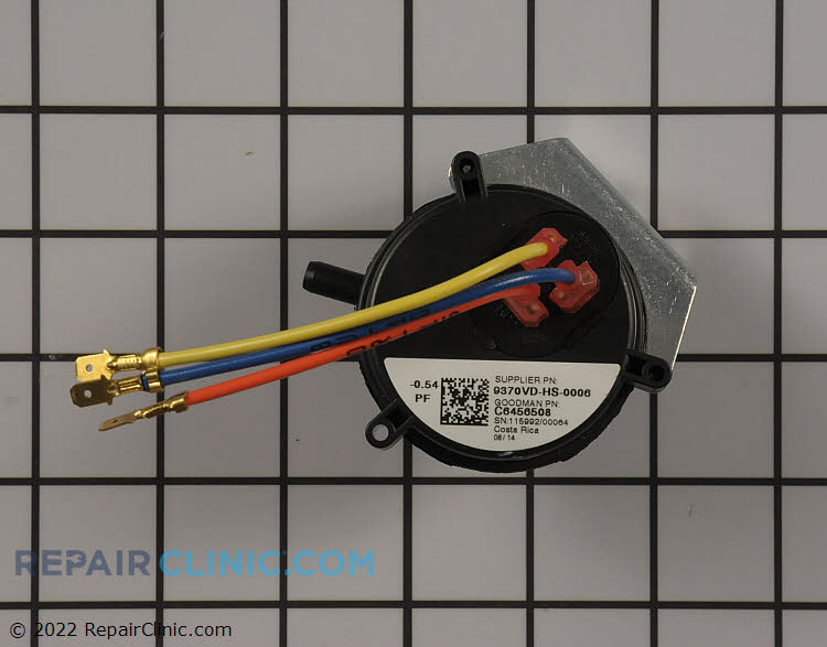 Pressure Switch C6456508 Alternate Product View