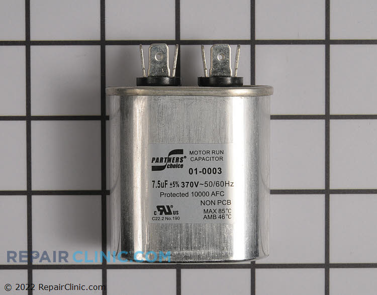Run Capacitor 01-0003 Alternate Product View