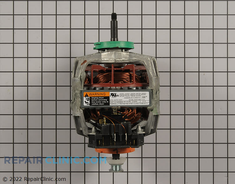 Drive Motor WPW10463866 Alternate Product View