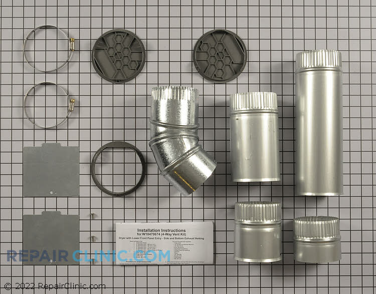 Side Venting Kit W10470674       Alternate Product View