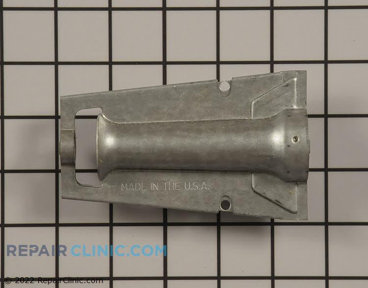 Inshot burner tube