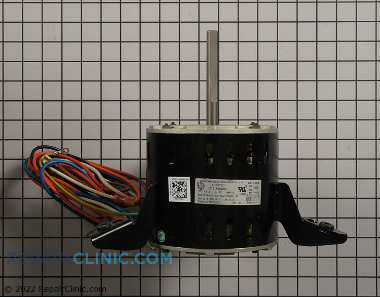 "1/2HP 115Volts 60Hz 8.1 amp 1130 RPM's 4 Speed Open Enclosure Single Phase CCW 4"" Shaft"