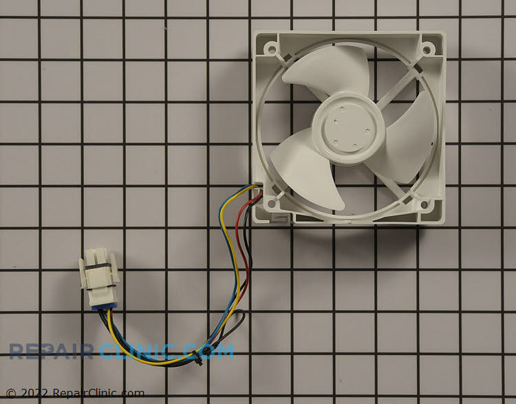 Evaporator fan motor wr60x10340 for Ge refrigerator evaporator fan motor replacement