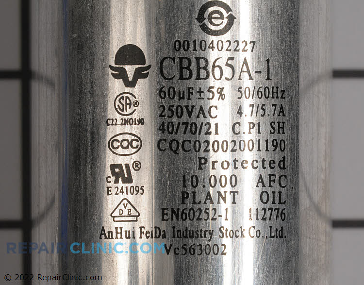 Capacitor AC-1400-26 Alternate Product View