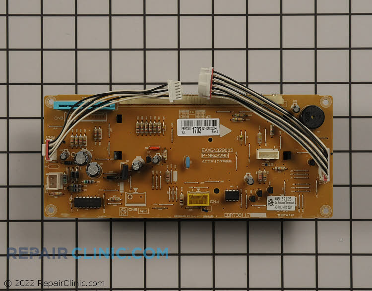 Oven Control Board EBR73811703 Alternate Product View