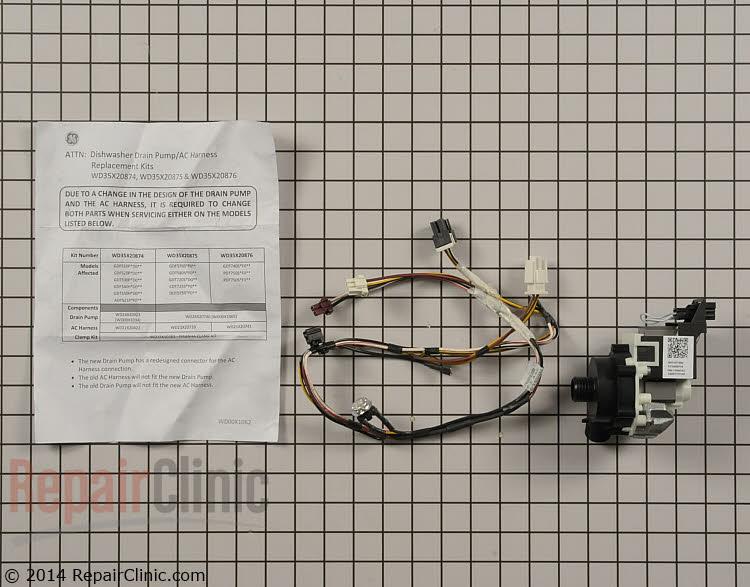 Drain Pump WD49X23782 Alternate Product View