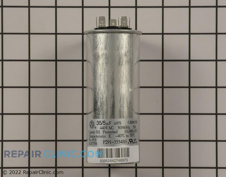 Dual run capacitor round 440 V 35/5 uF