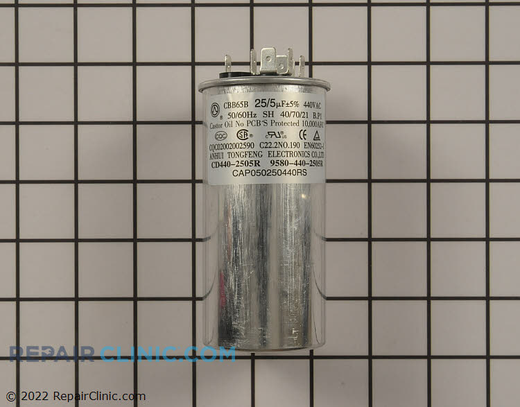 Dual Run Capacitor CAP050250440RSP Alternate Product View