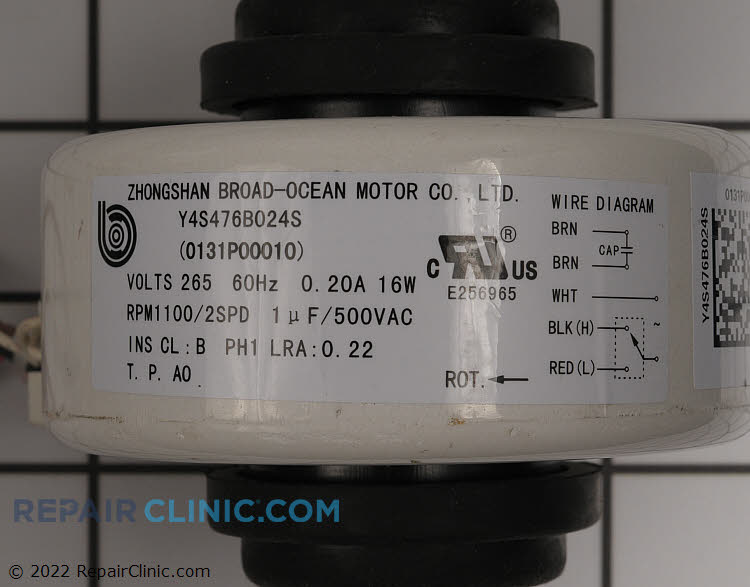 Fan Motor 0131P00010 Alternate Product View