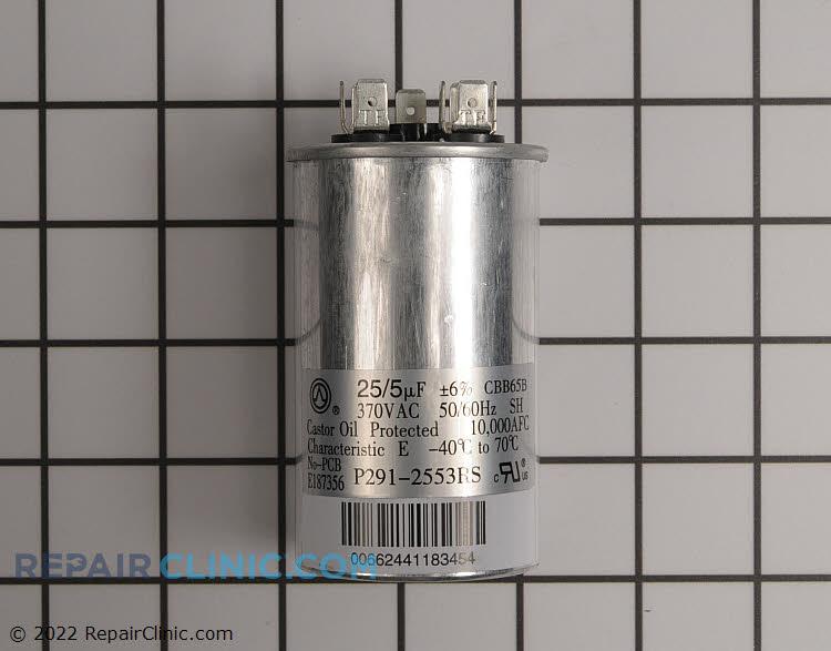 Dual, Round, 370 Volts, 25/5 Microfarads