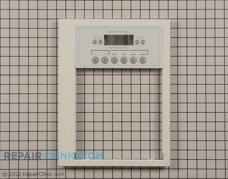 Dispenser front panel, white