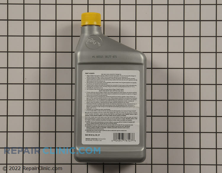 Engine Oil 100074          Alternate Product View