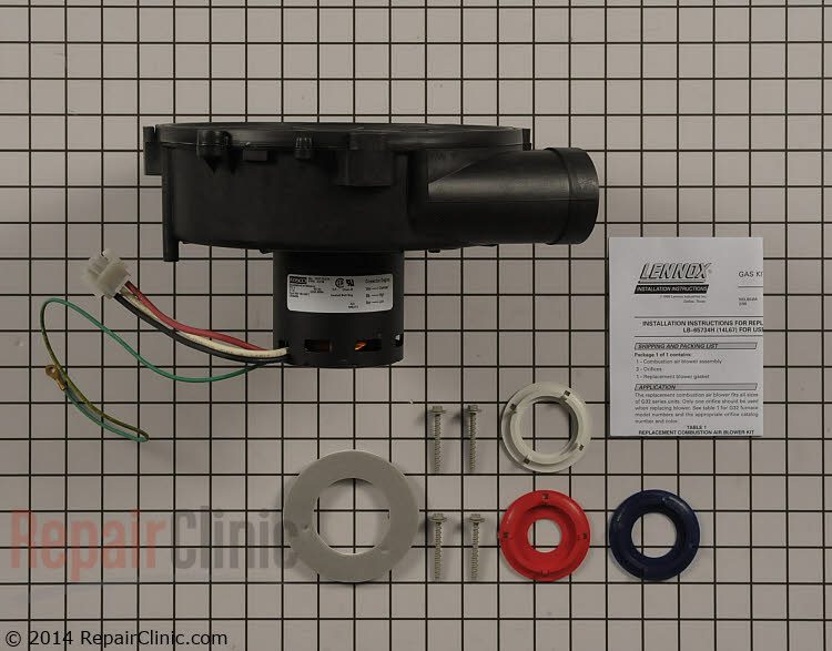 Draft Inducer Motor 14L67 Alternate Product View