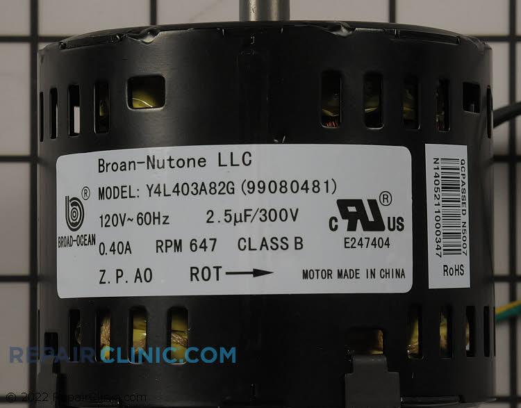Fan Motor S99080481 Alternate Product View